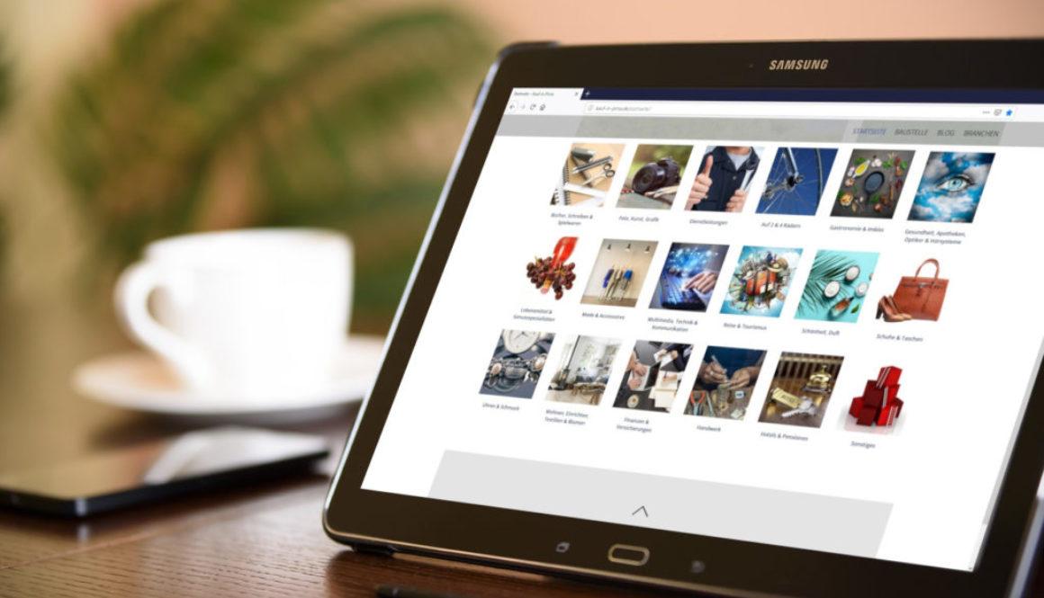 einkaufen pirna shoppen erlebnis tablet digitales schaufenster pexels pixabay
